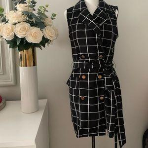 Strappy Blazer dress
